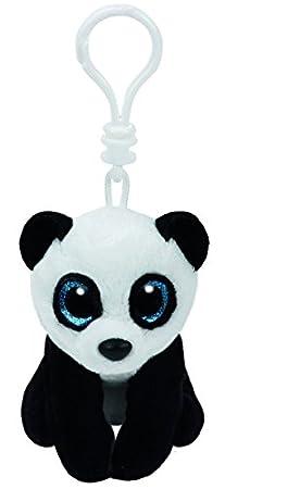 Ty 36653 – MING Clip – Oso Panda, 8,5 cm, con ojos