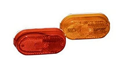 a9dce0e3ba267 Amazon.com: RV Trailer Camper Lighting Amber Replacement Lens For 55 ...