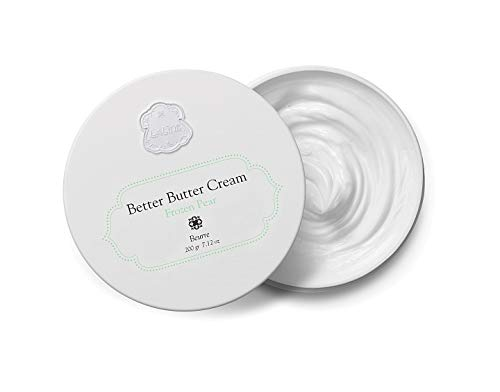 - Laline Better Body Butter Frozen Pear by for Women - 7.12 oz Moisturizing Body Lotion with [Nourishing Shea and Cocoa Butters]