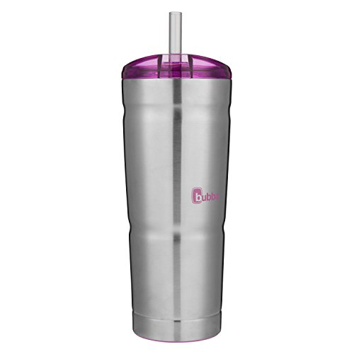 Bubba Brands Ignite USA 1965699 PURP Vacuum 24OZ Stainless Steel Tumbler, 24 oz w/Paradise Purple Lid