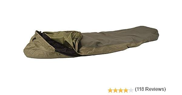 Mil-Tec Modular - Saco de dormir (3 capas) verde verde oliva Talla ...