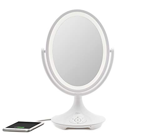 iHome Magnify Vanity Mirror iCVBT6 6