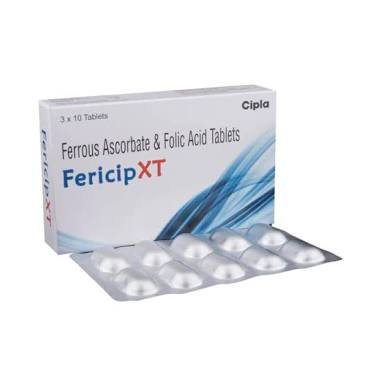 738eed921956 Buy Cipla Fericip-Xt Iron + Vitamin C + Folic Acid - 30 Tablets Online at  Low Prices in India - Amazon.in