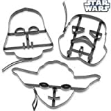 Star Wars Pancake Molds, Set of 3 Heroes and
