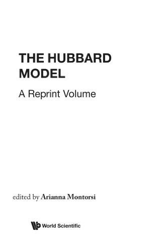 Hubbard Model, The: A Collection Of Reprints