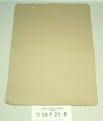 """""""Victoria Mushroom"""" Beige Craft Leather Piece Approx. 8"""" by 12"""" D56F21-8"""