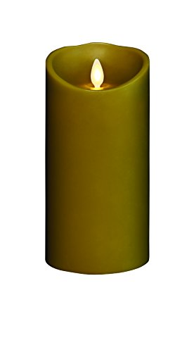 Bethlehem Lighting GKI Torchier Wax Candle, Sage, 3.5 by 7-Inch