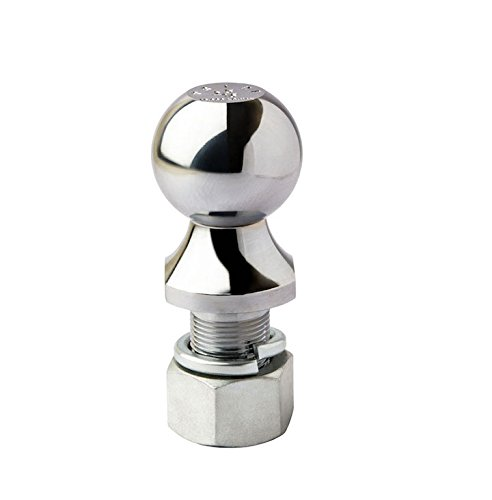 - Prime Steel 18043 Chrome Hitch Ball (6K - 2 X 1 X 2-1/8-Inches - Chrome - Pack of 1)