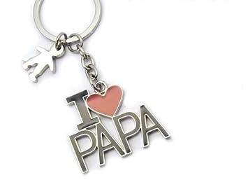 LLAVERO I LOVE PAPA