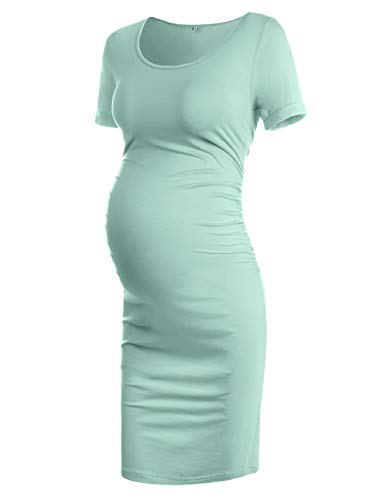 (Maternity Dress, Maternity Dresses for Special Occasions Sage L)