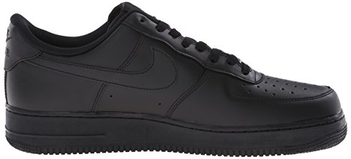 Air NIKE Schwarz Erwachsene Black Force Black Unisex Sneakers '07 1 UBBnExO