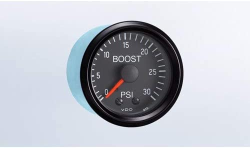 Cockpit Series 0-30 PSI 2-1//16 Boost Gauge Compatible with Dune Buggy