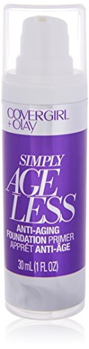 COVERGIRL + Olay Simply Ageless Makeup Oil Free Serum Primer for an Age-Defying, Never Pore Clogging Start to Your Makeup Routine, 1 (Age Defying Serum)