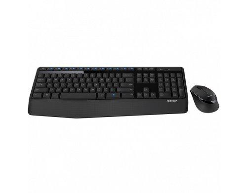 Combo Teclado e Mouse sem fio Logitech MK345 com Teclado com Apoio para as Mãos e Mouse Destro - Conexão USB, Pilhas…