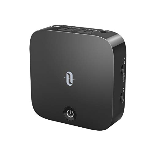 TaoTronics Bluetooth 5.0 Transmitter and Receiver, Digital Optical TOSLINK and 3.5mm Wireless Audio Adapter for TV/Home…