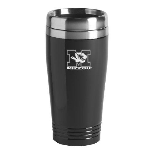 University of Missouri - 16-ounce Travel Mug Tumbler - Black