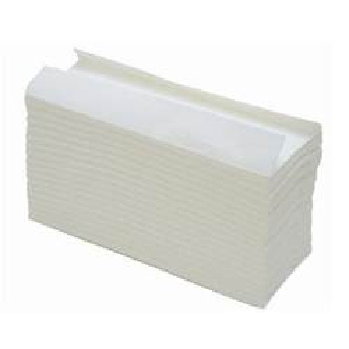 White C Fold Hand Towels - 2400 by Health-Care Equipment & Supplies