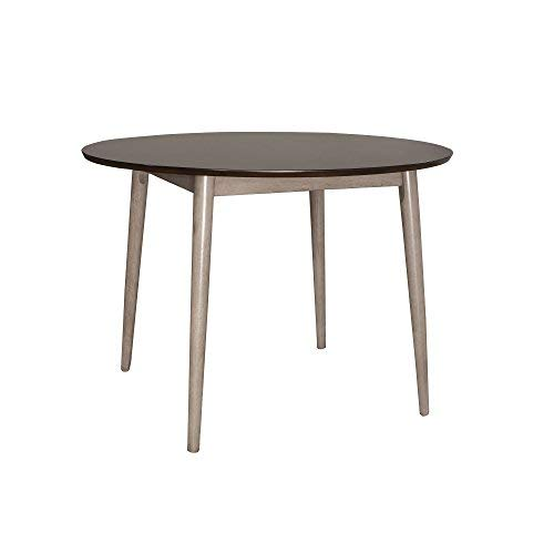 "Hillsdale Furniture 4552-810 Hillsdale Mayson 42"" Round Dining Table Gray"