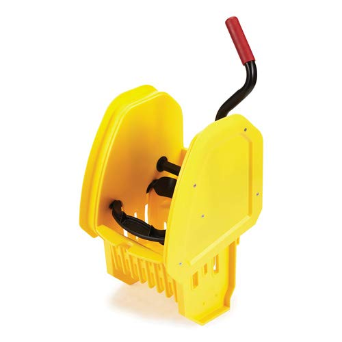 (Rubbermaid Down-Press Wringer for WaveBrake 2.0 Mop Buckets, Yellow)
