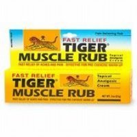 - Tiger Balm Fast Relief Muscle Rub Topical Analgesic Cream, 2 Ounce