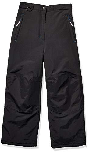 Amazon Essentials Boys' Big Water-Resistant Snow Pant, Black, Medium (Best Kids Snow Pants)