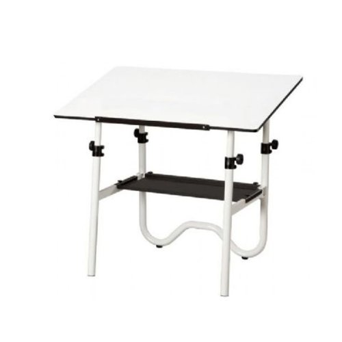 Alvin White Base with White 28'' x 42'' Top (ONX40-4) by Alvin