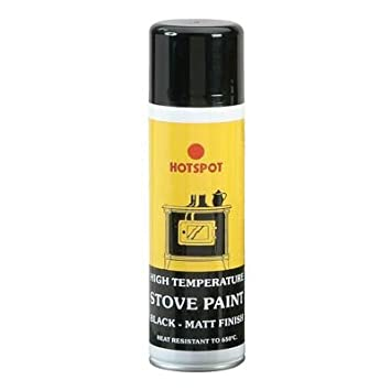 Beautiful Hotspot estufa pintura en aerosol negro 250 ml [e94787] (Neoteric diseño): Amazon.es: Hogar