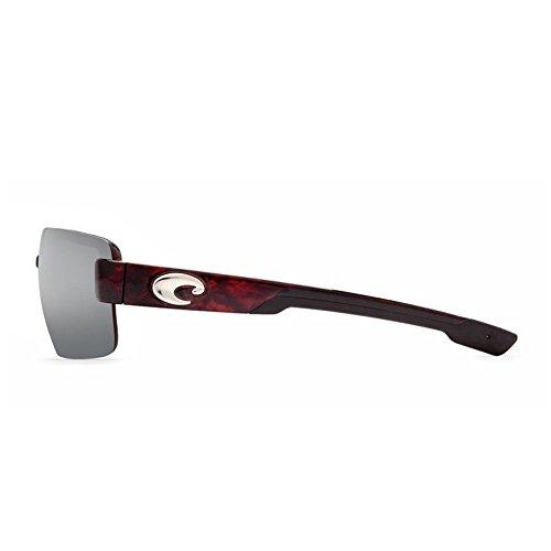 Costa Del Mar Men's Galveston Sunglasses (Tortoise,Silver - Costa Mar Sunglasses Galveston Del