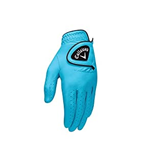 Callaway 2016 Opticolor Glove Ladies Left Aqua Small