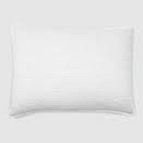 Athena Silk Pillow - Hudson Park Luxe Athena White Silk Cotton Standard Quilted Pillow Sham