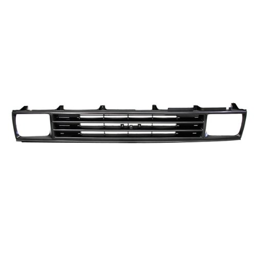 CarPartsDepot 400-44298-Bk, Rwd Grill Grille Argent Frame Black Insert Wo Chrome Mldg TO1200108 5310089118 Chrome Argent Grille Grill