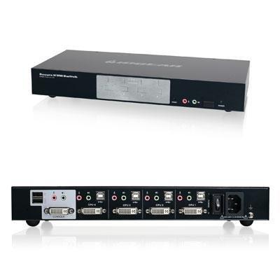 IOGear GCS1214TAA 4-Port DVI KVM Switch by IOGEAR