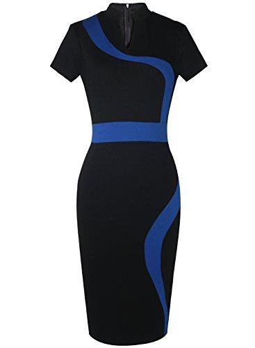 meikeerr-women-business-casual-colorblock-slimming-pencil-office-dress