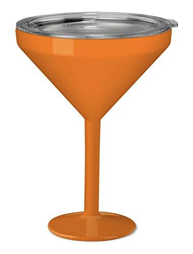True North Insulated Martini Glass (Sport Orange) -