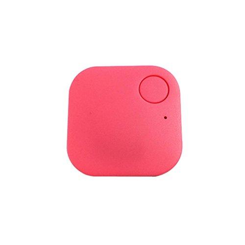 Smart Bluetooth Tracer Pet Child Wallet Key GPS Locator Tag Alarm(Pink) - 6