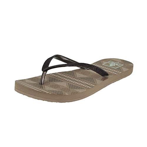 Reef Womens Stargazer Prints Sandal Footwear, Brown Tribal, Size 7
