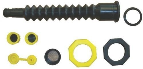 New Ez-pour 10050 Replacement Spout Fill Kit For Old Plastic Gas Can Jug 0857656
