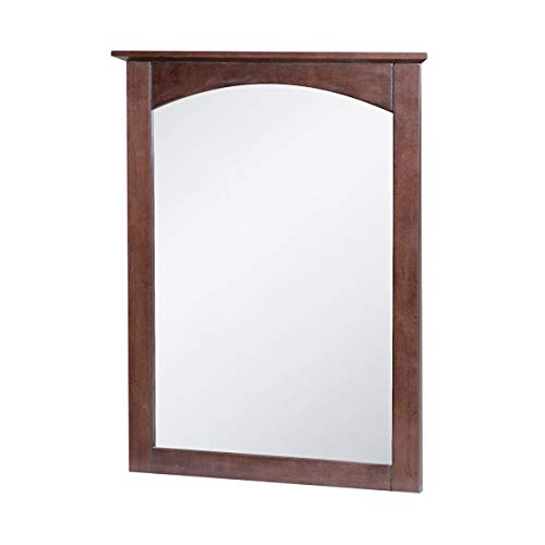 Foremost Cherry Vanity - Foremost COCM2128 Wall Mirror Columbia Cherry,