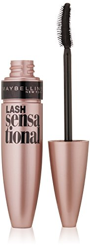 Maybelline New York Lash Sensational Mascara, Blackest Black, 0.32 Fluid Ounce