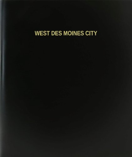 BookFactory® West Des Moines City Log Book / Journal / Logbook - 120 Page, 8.5