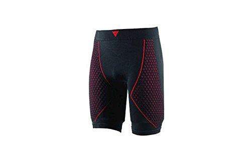 Dainese-D-CORE THERMO Pantalon SL, Noir/Rouge, Taille M 1915950_606_S