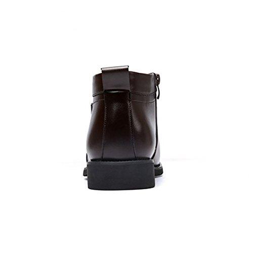 pelle retr Stivali di Shoes uomo da Vlevet invernali Scarpe BMD zwqaHItH