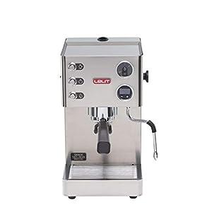 Lelit Grace PL81T Macchina Espresso Semiprofessionale ideale per Caffè Espresso, Cappuccino e Cialde Carta - Carrozzeria in Acciaio Inox Satinato – Display Grafico LCD e Sistema Elettronico di Gestione LCC