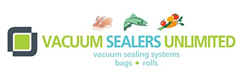 Vacuum Sealers Unlimited 2 Pack of Textured Vacuum Sealer Bags