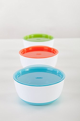 OXO Tot 4 Piece Feeding Set, Aqua (4 Pack) by OXO (Image #4)