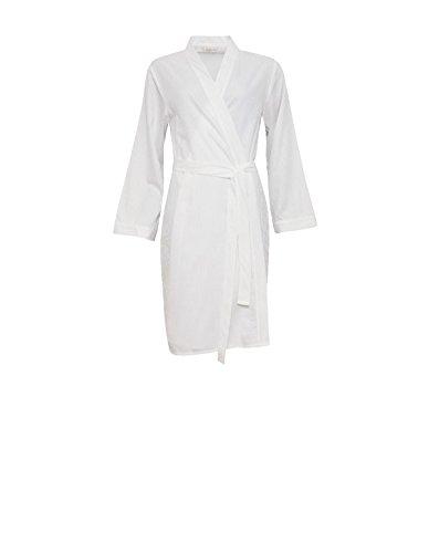 Gown Dressing Robe White Loungewear Striped Robe 3727 Women's Cyberjammies Georgia Bath Satin q70gYTx