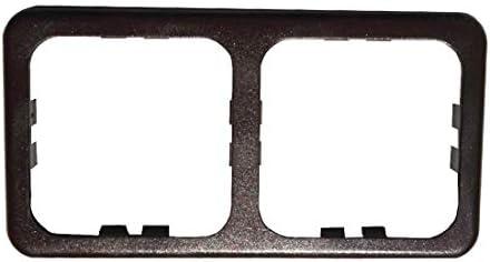 Frame 2 Modules Cbe MAC2P Brown for Sockets /& Control Camper Boat