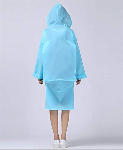 Veste Eva Poncho Dame Moto Femmes Transparent Casual Rainwear Imperméable Blau De Pluie Vélo wqxZI450