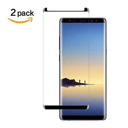 Galaxy Note 9 Screen Protector,Newbel HD Tempered Glass Compatible with Samsung Galaxy Note 9[2 Pack][9H Hardness][Case Friendly][Anti Scratch][Anti Bubble] ()