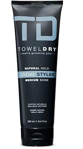 Towel Dry Natural Hold Creme Styler Medium Shine, 8.4 Fluid Ounce